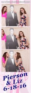 Photo Booth with Elvis prop and custom backdrop