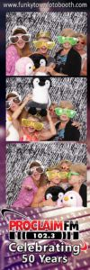 Photo booth at an anniversary celebration - Toledo OH