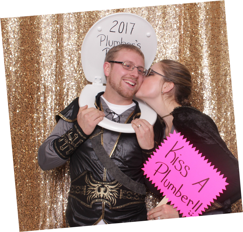 Photo Booth Glitter Custom Backdrop