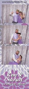Photo Booth Print, silver sequin, premium backdrop