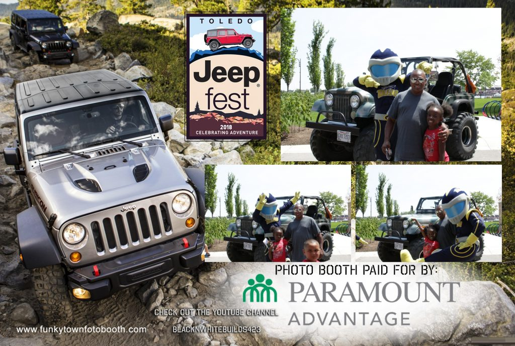 Toledo Jeep Fest, Photo Booth print, UT Mascott