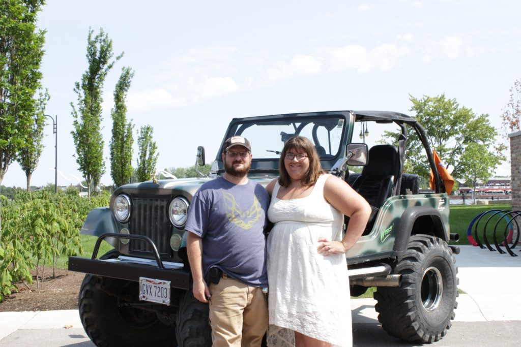 Jeep Fest Photo Booth, toledo photo booth rental